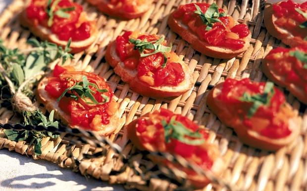 bruschetta recipe party ideas