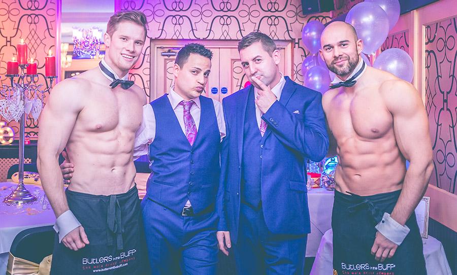 Nude gay weddings
