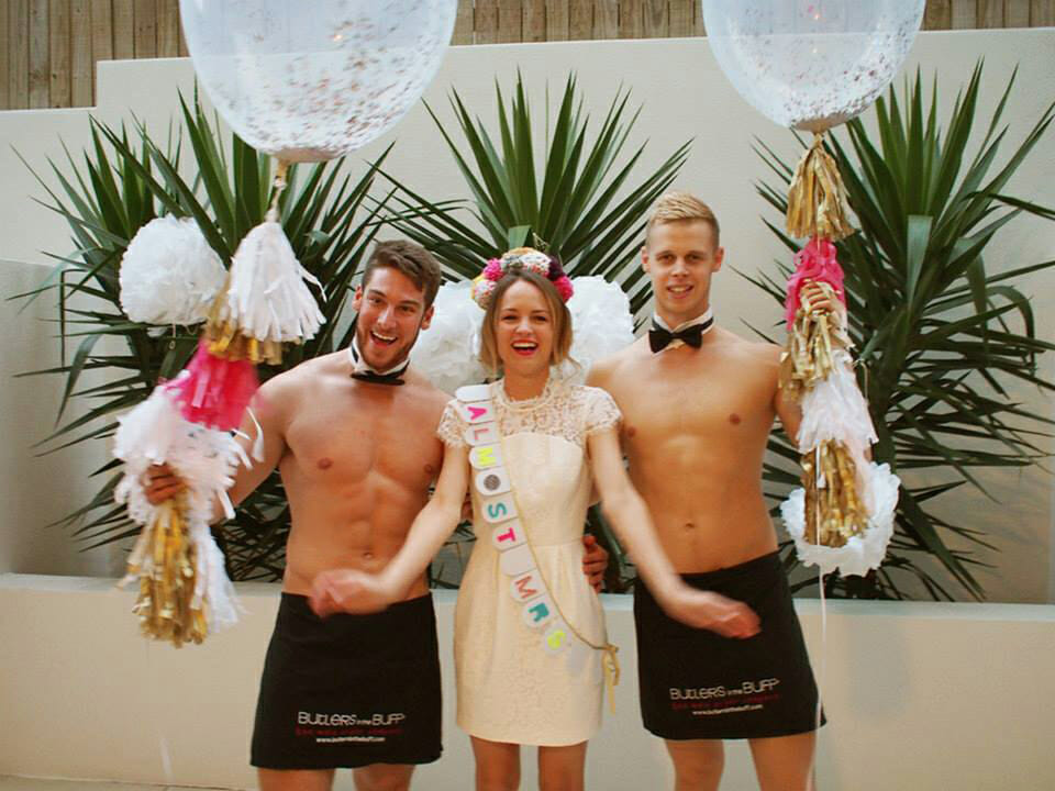 Our Hunky Bachelorette Party Butler Gallery | Butlers in
