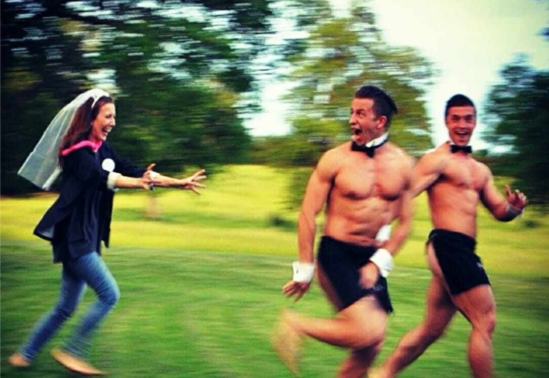 best naked butlers hen party ideas