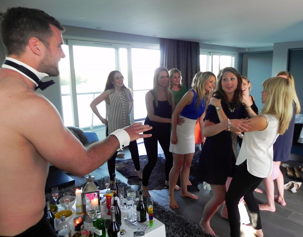 Bachelorette Party Ideas Chicago - Butlers in the Buff