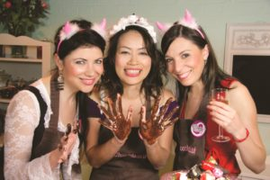 chocolate making party ideas