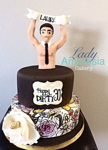 Dirty 30 Themed 30th Birthday Party Ideas Butlers In The Buff