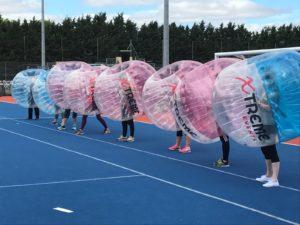 bubble zorb hen party activity