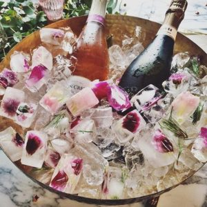 Butlers in the buff- summer hen party ideas- floral