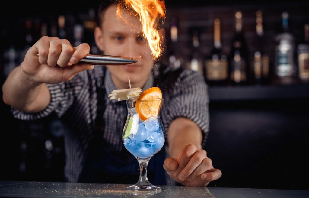Cocktail flair Denver Bachelorette