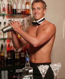 butlers in the buff package hen party ideas