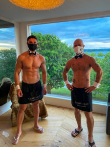 Butlers with Masks